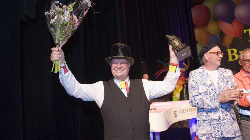Bennie Morsinkhof, beter bekend als zijn alter ego Karel van de Kate, won zowel de publieks- als de juryprijsⒸ ROBERT HOETINK