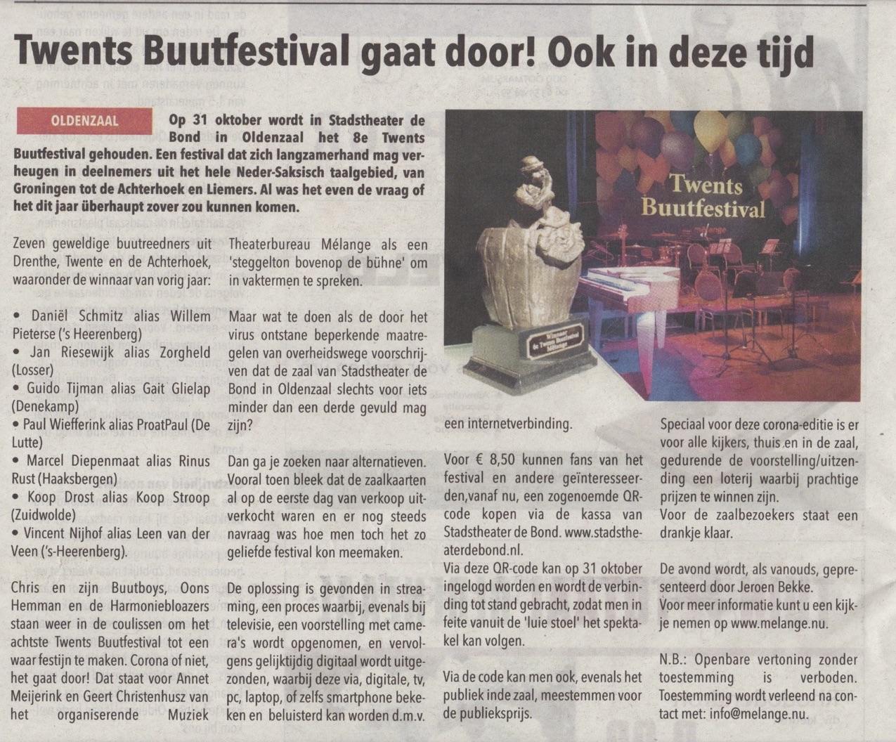 Artikel-Hartkkranten.nl-Buutfestival_25-9-2020